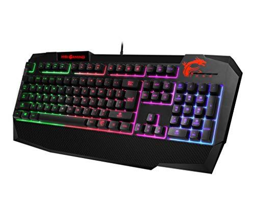 """Amazon.de: MSI RGB Gaming Tastatur """"Vigor GK40"""" um 40,33€"""