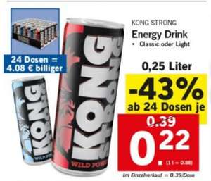 Energy Süchtler -  Kong  Strong 0.22 €