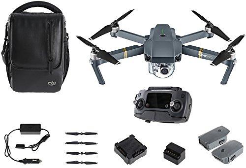 "Amazon WHD:  DJI Mavic Pro ""Fly More Combo"" Quadcopter Drohne mit Kamera"
