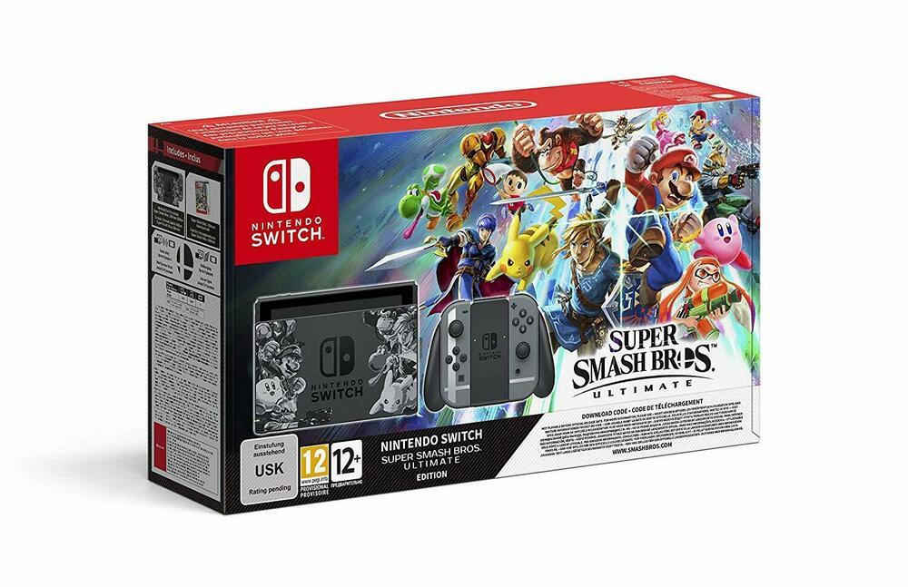Nintendo Switch Super Smash Bros. Ultimate Bundle