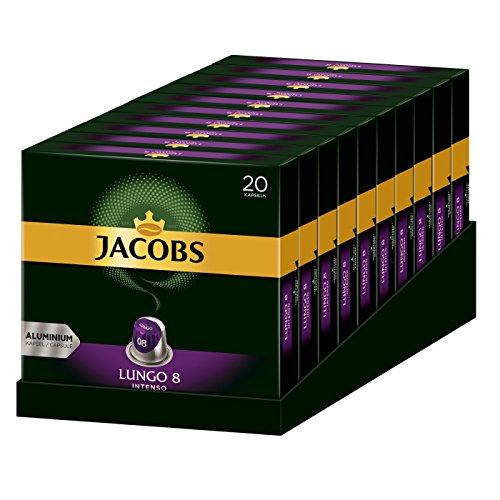 Jacobs Kapseln Lungo Intenso (10 x 20 Kapseln)