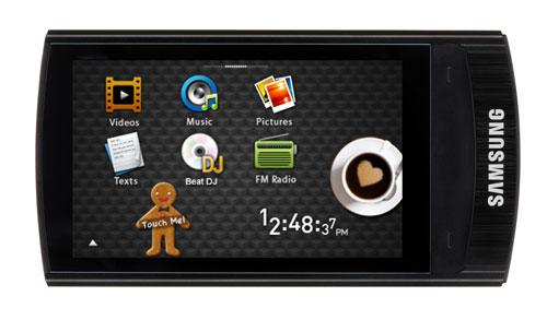 Multimediaplayer Samsung YP-R1 JCB 8GB für 76€ *UPDATE* Jetzt für 72€