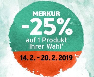 Merkur -25% Pickerl jetzt auch digital
