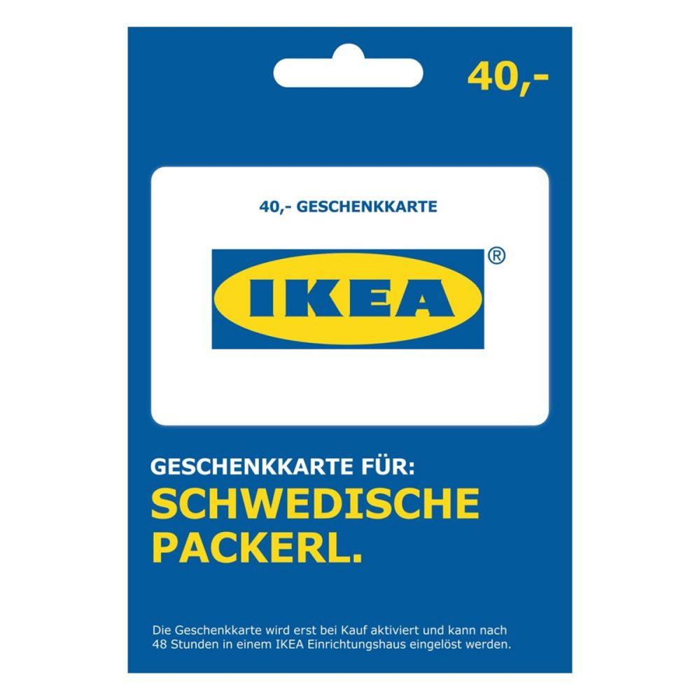 [Interspar.at] 40 Euro Ikea Gutschein für 30 Euro