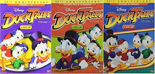 Ducktales Collection DVD Boxen