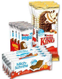 [Penny] 5x Ferrero Milchschnitte / 4x Kinder Pingui / 3x Maxi King für je 0,97 €