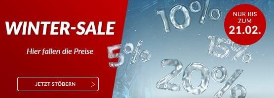 Winter-Sale bis 21.02 / 10% Gutschein (25€ MBW)