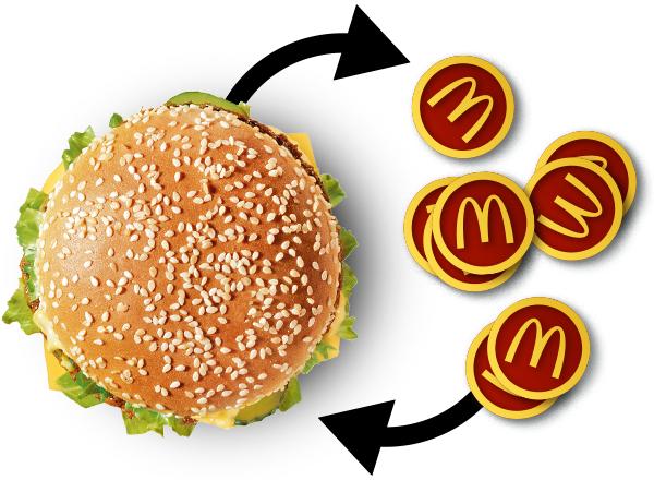 McDonald's - exklusive App Gutscheine