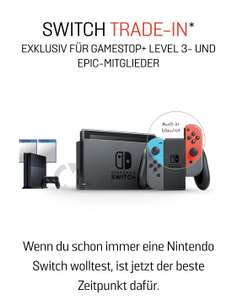 [Gamestop] Nintendo Switch Eintauschaktion