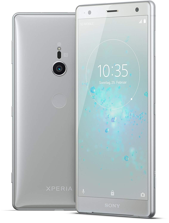 [mylemon.at] Sony Xperia XZ2 Dual - Sim Liquid Silver - Bestpreis