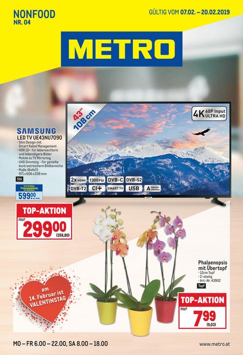"""Günstiger 43"""" Samsung 4K-Fernseher, nur noch heute!"""