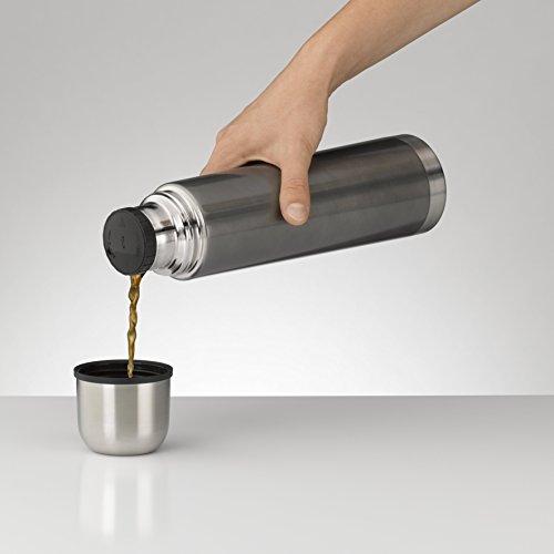 Alfi Isolierflasche aus Edelstahl (0,75 l) grau