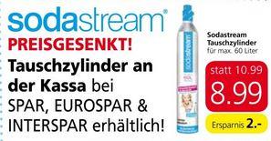 [Spar / Eurospar / Interspar] Sodastream Tauschzylinder