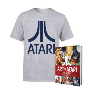 "[Zavvi.de] Buch ""The art of Atari"" und Shirt"