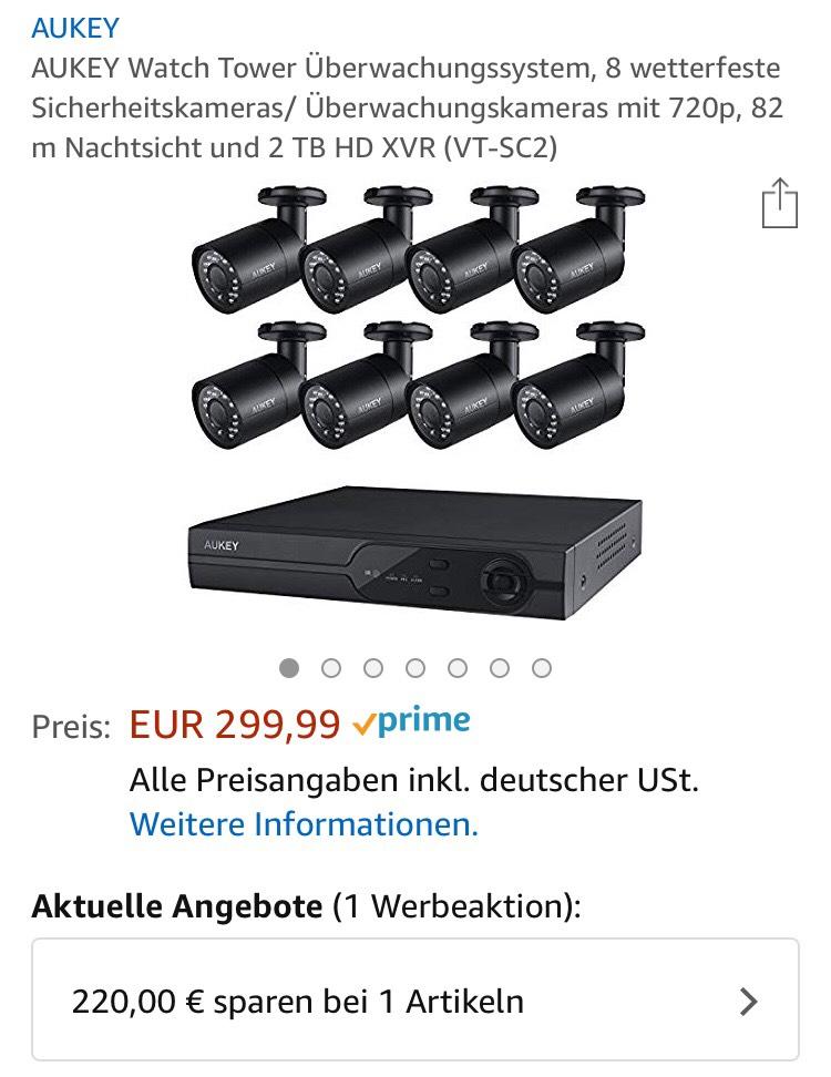 Aukey 720p Watchtower