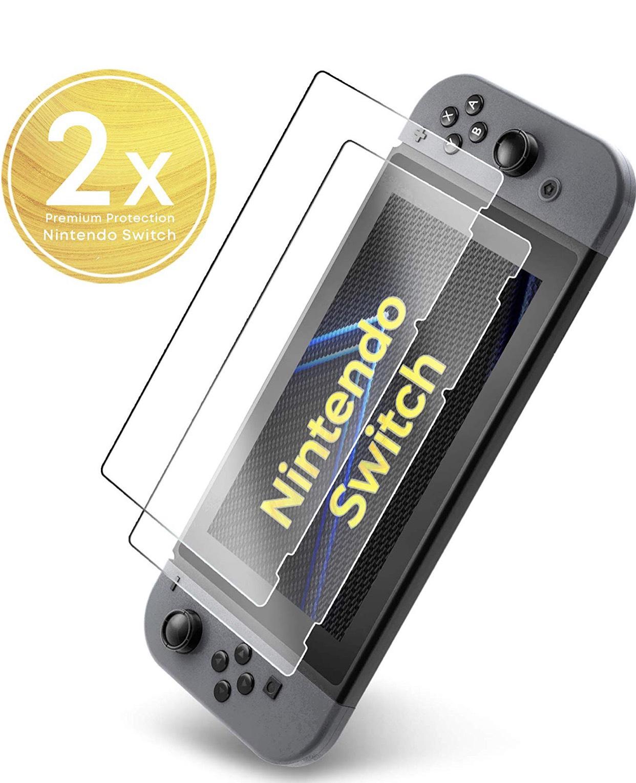 UTECTION 2er Pack Panzerglas Folie für Nintendo Switch um 4,03