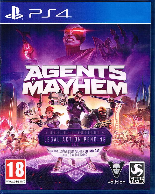 [gameware.at] [PS4/XBOX] Agents of Mayhem D1 Edition + 7 DLCs