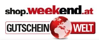 Weekend Shop Gutscheine - 25% ab 08. März 2019
