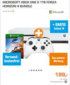 Xbox one s 1tb inkl. Forza Horizont 4 und Fallout 76