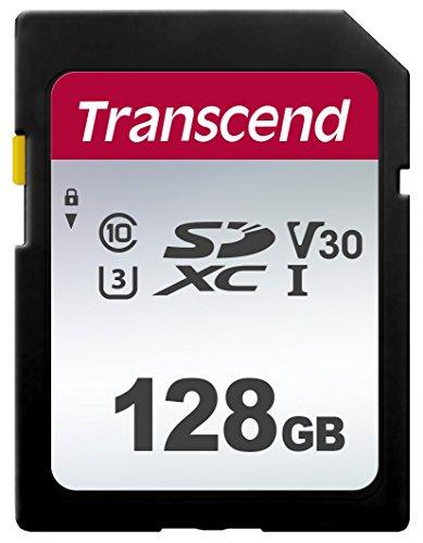 """Transcend """"300S"""" SDXC Speicherkarte (128GB, R95/W45)"""