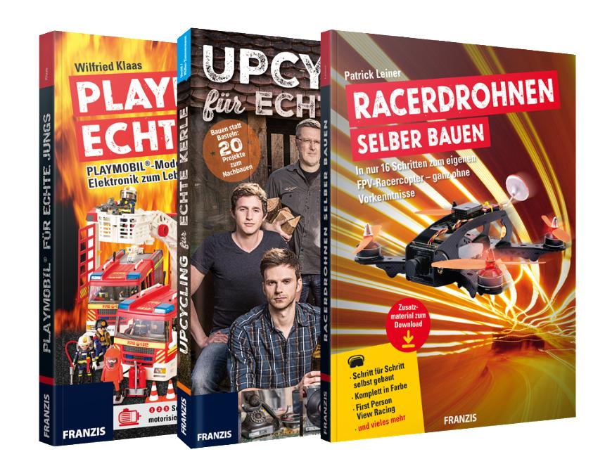 Der Franzis Verlag verschenkt ein E-Book Paket