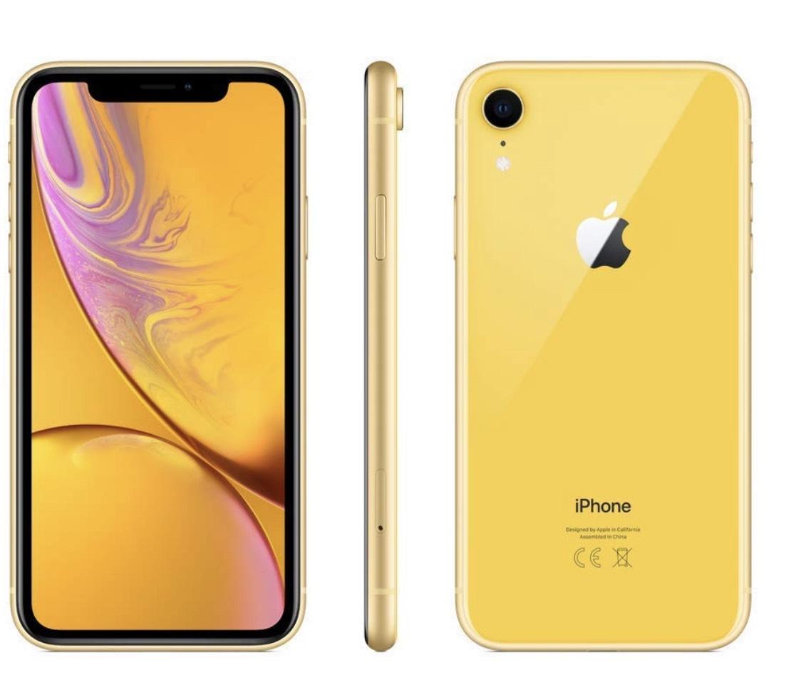 Apple iPhone XR 256GB gelb für 807,29€ (Amazon.es)