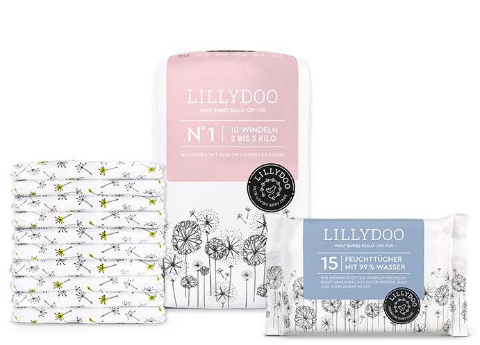 [Lillydoo] Kostenloses Testpaket mit 10 Windeln und 15 Feuchttüchern - Abo muss gekündigt werden!