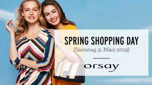 Orsay Spring Shopping Day - Sa. 9.3.