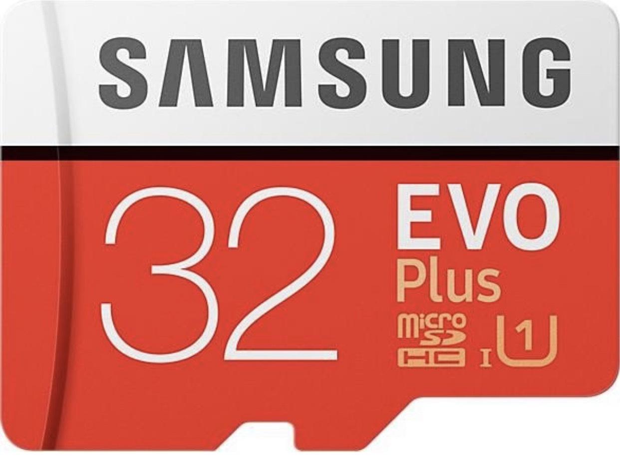 Samsung EVO Plus Micro SDHC 32GB bis zu 95MB/s, Class 10 U1 Speicherkarte für 4,49€