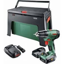 Bosch PSR 1440 LI-2 Akkuschrauber + 2 Akkus + WorkBox