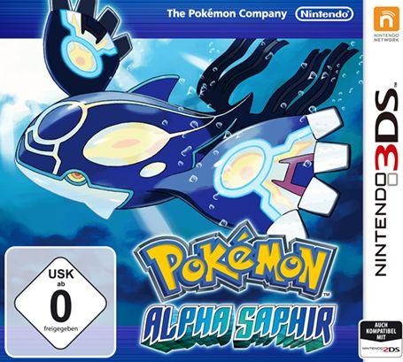 [Amazon] Pokémon Alpha Saphir oder X oder Y (3DS) für je 20,84 €