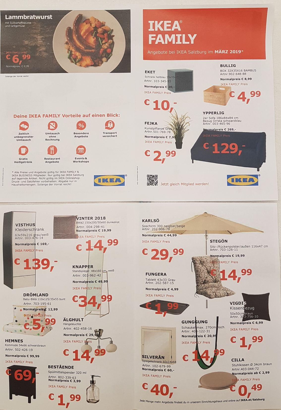 Family Angebote bei Ikea Salzburg