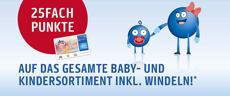 DM Payback: 25% Rabatt auf alle Babyartikel und mehr