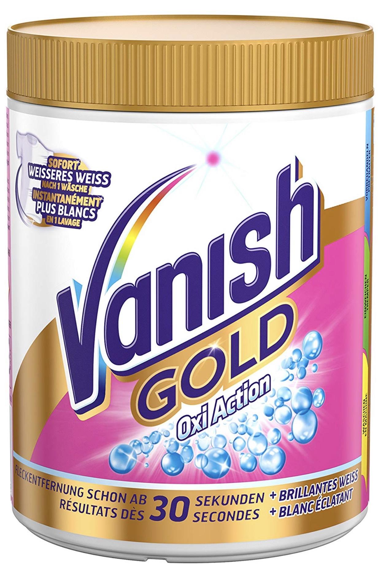 Vanish GOLD Oxi Action Pulver für Weiße Wäsche um 5,58€ (Spar-Abo)