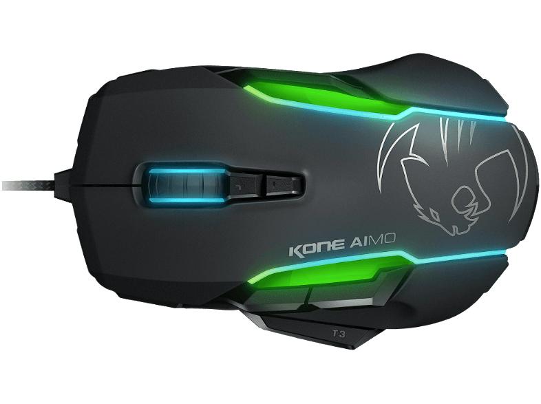 Roccat Kone Aimo schwarz Gaming Maus (ROC-11-815-BK) für 55€
