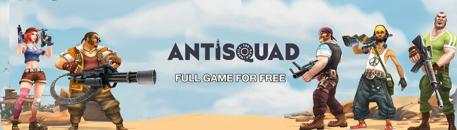 Antisquad Gratis @ Indiegala