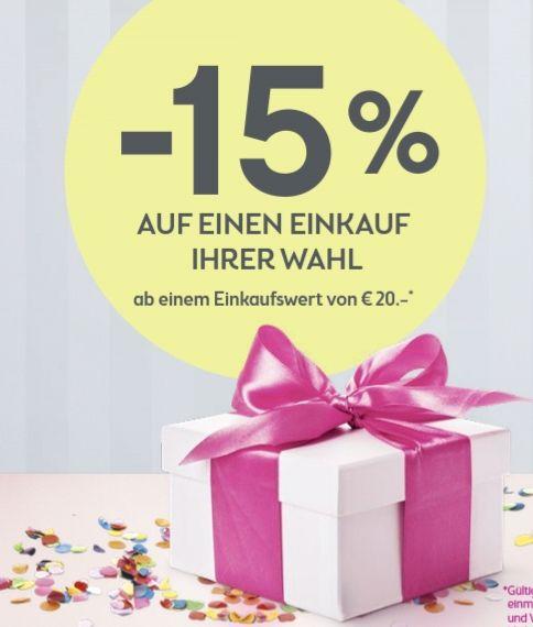 BIPA: Umfrage ausfüllen und 15% Gutschein erhalten (Mindesteinkaufswert 20€)
