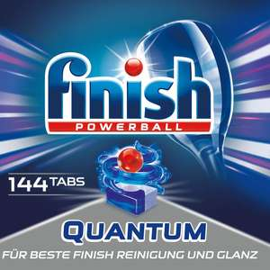[Amazon] Finish Powerball Quantum 50 Tabs / 64 Tabs / 80 Tabs / 144 Tabs und Powerball All-in-1 mit 20% Coupons