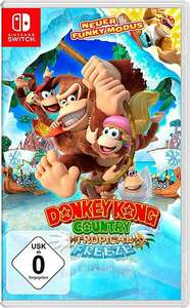 Donkey-Kong (Switch) zum Bestpreis bei Universal, ev. Cashback möglich