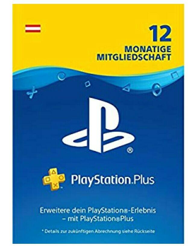 [HOFER] & [Müller] PlayStation Plus Mitgliedschaft 12 Monate