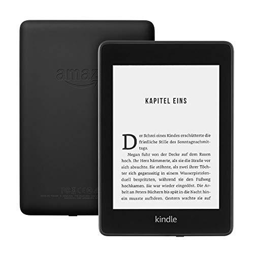 neuester Kindle Paperwhite (wasserfest, doppelter Speicher, mit Werbung)