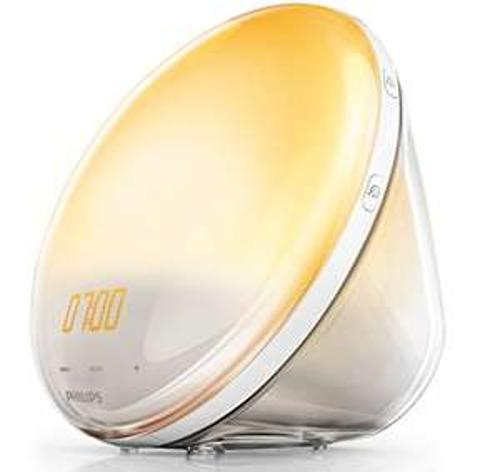 """Philips """"HF3531/01"""" Wake-Up Light mit Sonnenaufgangsfunktion und Radio"""