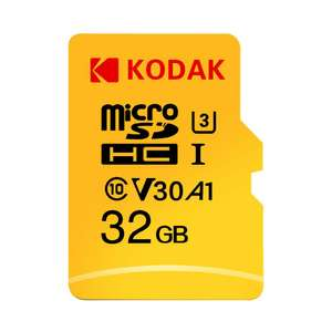 Kodak 32GB Micro SD TF Card UHS-I U3 A1 V30