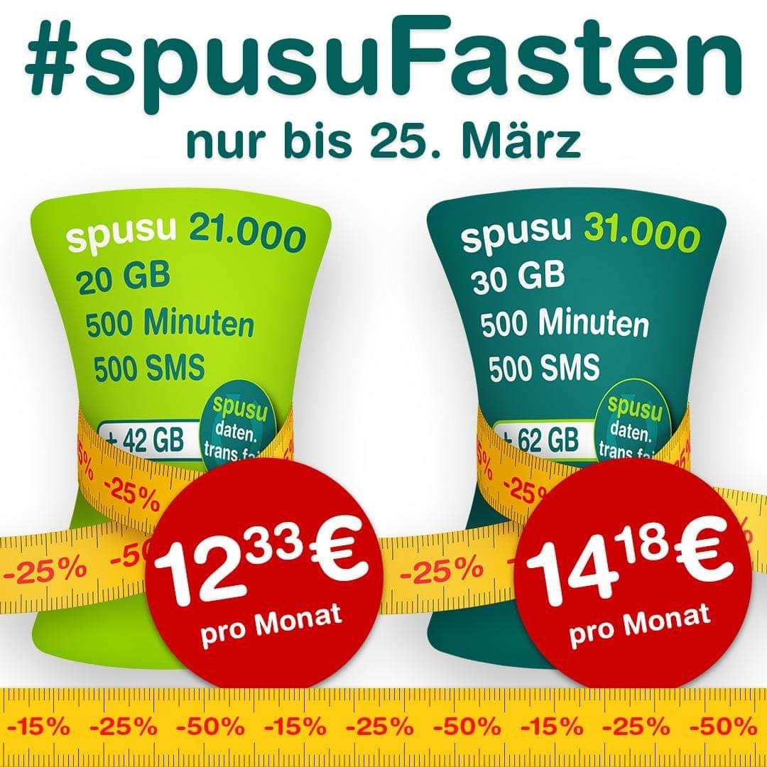 Spusu - Fasten (20GB 12,33€ / 30GB 14,18€)