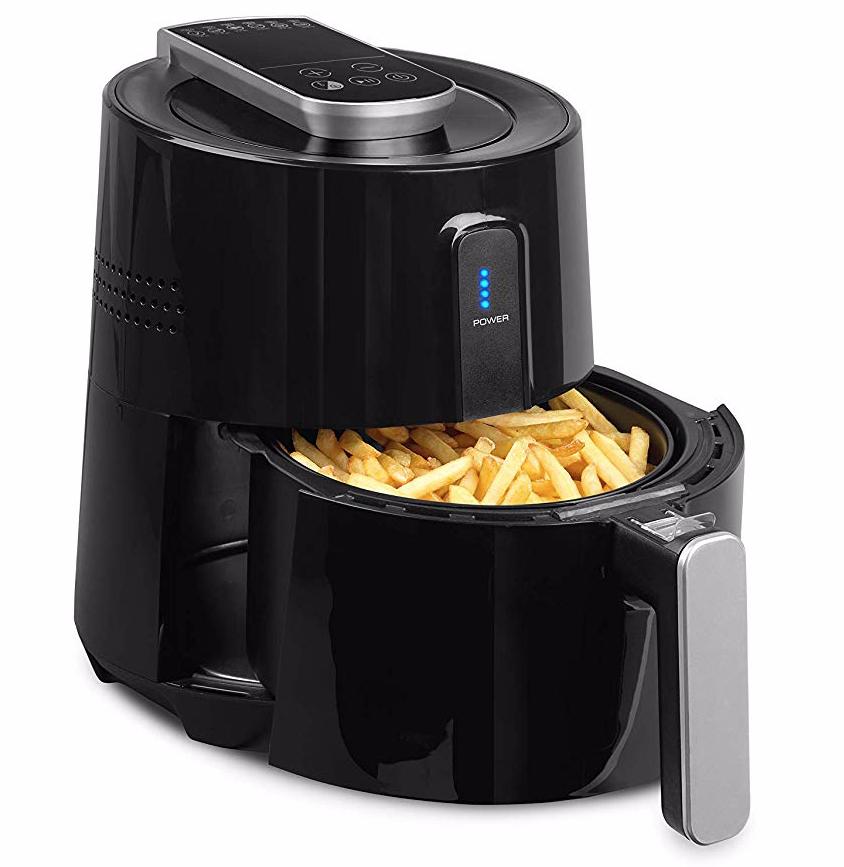 Medion Heißluftfritteuse - Frittieren ohne Öl und Fett (2,6l, 1300 Watt)