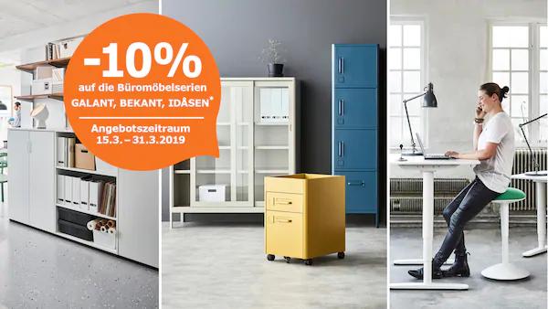 IKEA -10% auf Büromöbel Online-Angebot