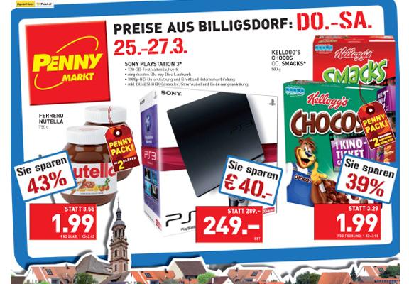 Playstation 3 120GB um 249€ @Penny Österreich