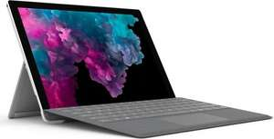 [OTTO] Microsoft Surface Pro 6 Platinum - Core i5-8250U, 8GB RAM, 128GB SSD + Surface Pro Signature Type Cover platin grau