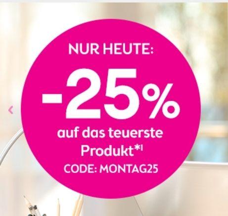 Bipa: 25% auf das teuerste Produkt (nur heute)