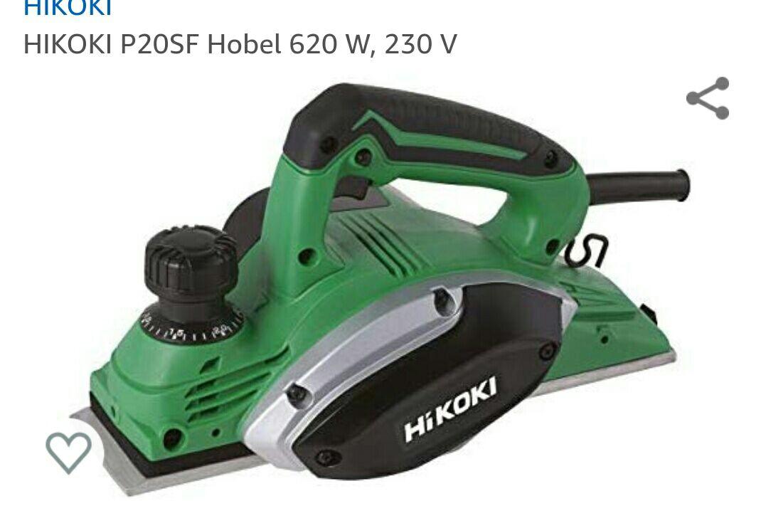 HIKOKI P20SF Hobel 620 W, 230 V